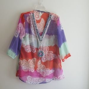 Cute Options. Gorgeous top. Cover-up..
